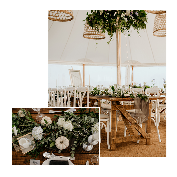 Lilac & Wild Marquee Florist