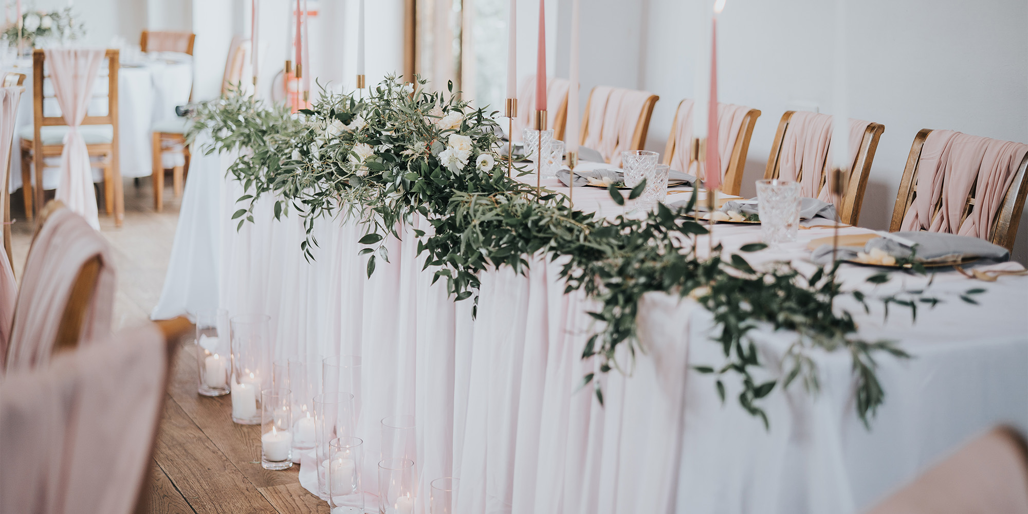 Lilac & Wild Top Table Design
